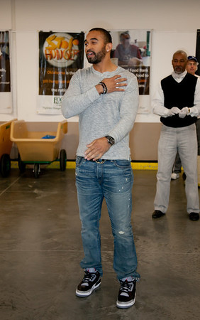 Matt Kemp @ Food Bank Dec. 2011