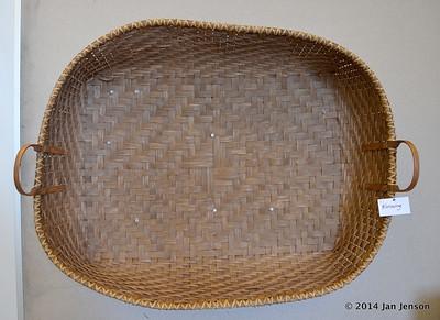 Dream Weavers basket displays at the 2014 Matthews Alive! Festival