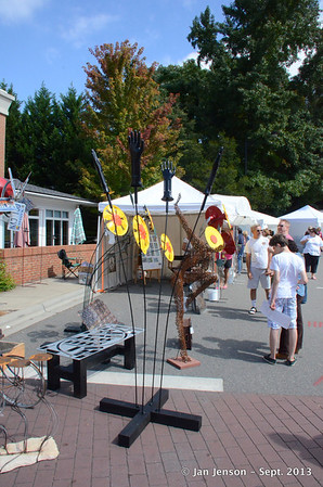 Matthews, NC 2013 ArtFest at Matthews Station