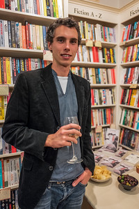 Book launch at Mr B's, Bath