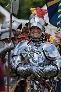 Geharnischt /  Knight in armor