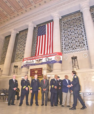 May 11, 2019 - Medals Day Ceremony to honor BCFD members - Baltimore War Memorial