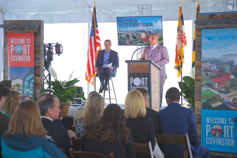 May 13, 2019 - Port Covington Chapter 1B Groundbreaking
