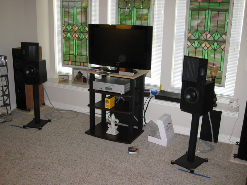 The system with the Virtue Two and the LF-16's.