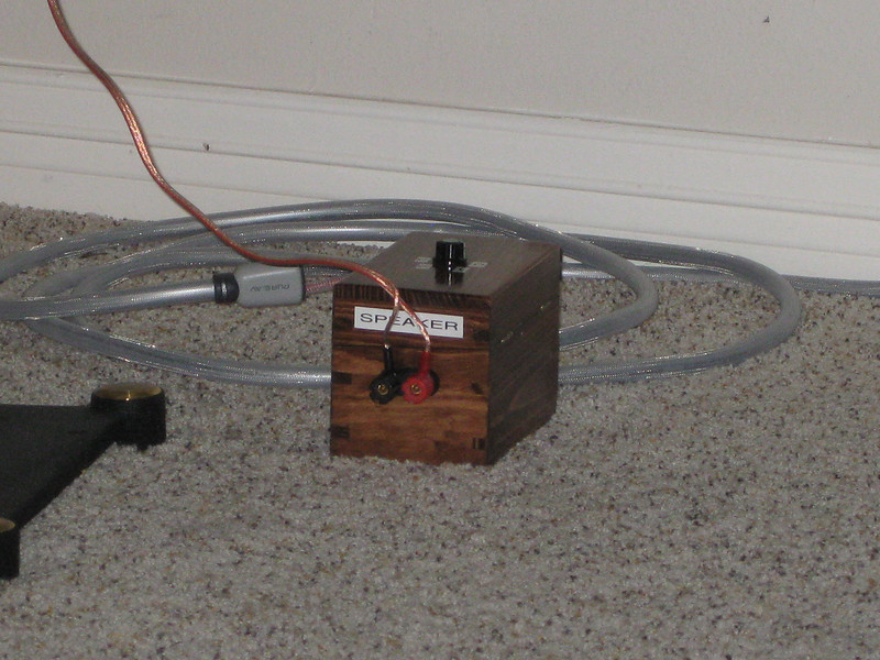 "A closer view of the ""black box"" prototype. Here's the link to information about the black box: <a href=""http://www.audiocircle.com/index.php?topic=67559.0"">http://www.audiocircle.com/index.php?topic=67559.0</a>"