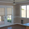 Dining area & french doors to back yard