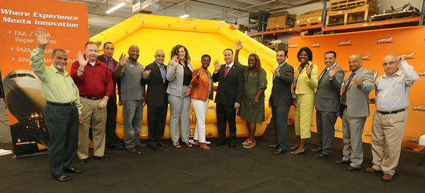 May 21, 2015 Aviation Inflatables State Rep Visit...