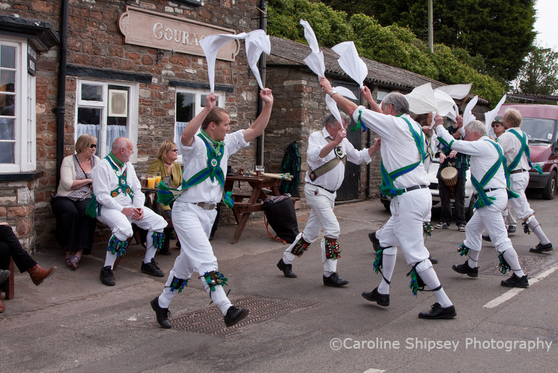 Renewed enthusiasm after more beer - was it true that Bristol Morris had got there first and drunk all the Doom Bar?