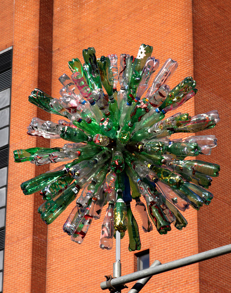 Plastic Bottles sculpture at The Mayor's Thames Festival 2010