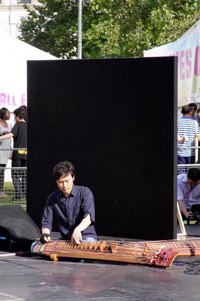 Korean Musician at The Mayor's Thames Festival 2010