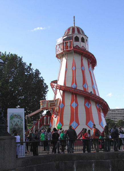 Helter Skelter at The Mayor's Thames Festival 2010
