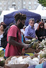 Coconut vendor at The Mayor's Thames Festival 2010