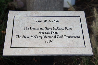 McCarty Waterfall Dedication