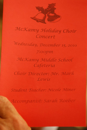 McKamy Holiday Choir: Mark Lewis