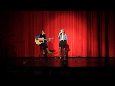 "Here's McKenna's incredible round 3 performance of ""Like I'm Gonna Lose You"" at MSHS Wildcat Idol. She's accompanied by amazing guitar player, Natalie Werner. Phenomenal performance! (Click on HD for better video.)"