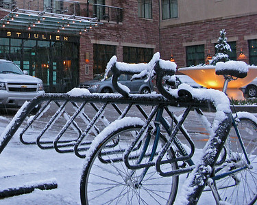 Plan A - Mountain Biking in the SNOW!