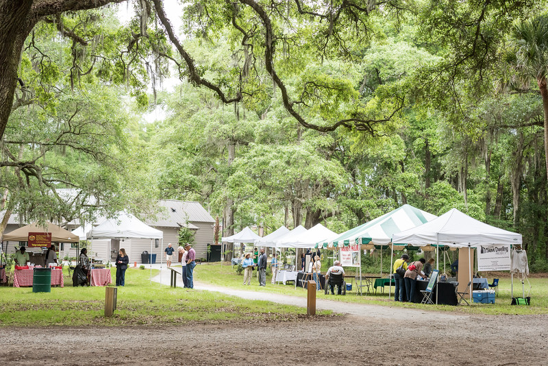 Vendors participating at the Grand Opening of the McLeod Historic Site