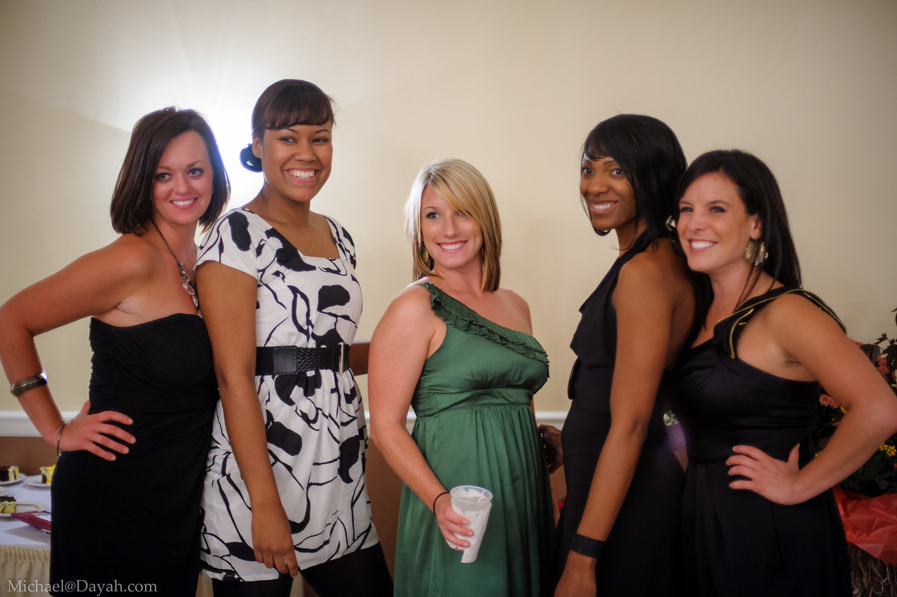 Fran, Rochelle, Ellen, Lacey