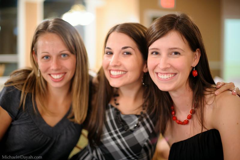 Martha, Shawna, Lindsey