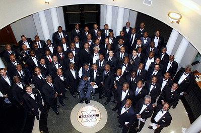Here are 75 Marshall University grads, celebrating the 50th Anniversary of the Epsilon Delta Chapter of Kappa Alpha Psi Fraternity, Inc.  ( Epsilon Delta founded at Marshall  on Dec. 2, 1962.)