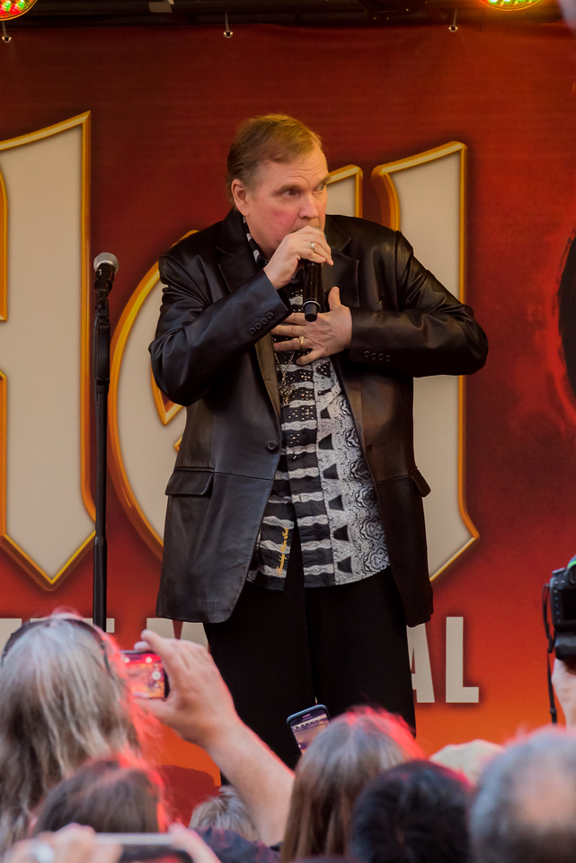 Meat Loaf launches hit musical Bat Out of Hell in Toronto
