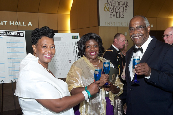 Coverage of the Medgar & Myrlie Evers 50th tribute gala held at the Jackson Convention Complex in Jackson, Ms.