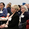 Region 3 Medical Reserve Corps Training Day at MCC in Bedford. From left, Ann McDonough of Woburn, Susan Lavallee of Chelmsford and Theresa Russ of Woburn. (SUN/Julia Malakie)