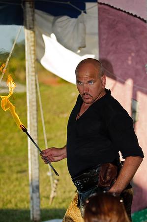 Manly pose?  Johnny Phoenix.