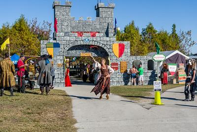 Medieval Faire, Lakes Park 2014