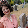 "Alexis Bell plays the part of the murdered, ""Jane Doe,"" who was recently discoverd to be Dorothy Howard.<br /> For more photos and a video of the spirits, go to  <a href=""http://www.dailycamera.com"">http://www.dailycamera.com</a>.<br /> Cliff Grassmick / October 17, 2010"