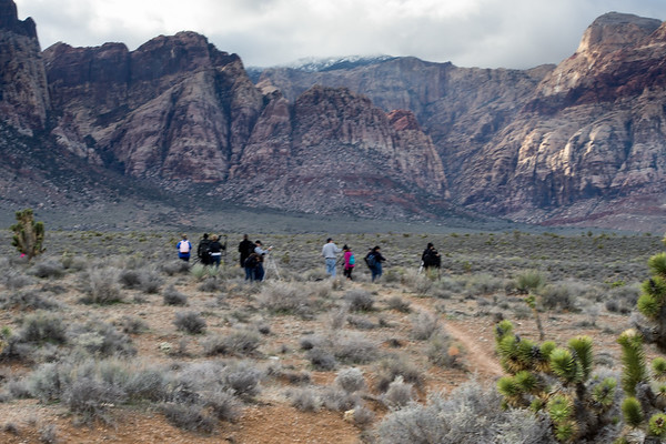 Aspiring Photographers in Red Rock Canyon