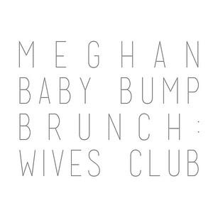 Meghan Baby Bump Brunch