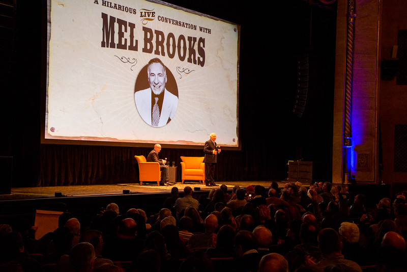 Mel Brroks Meet and Greet December 9, 2016