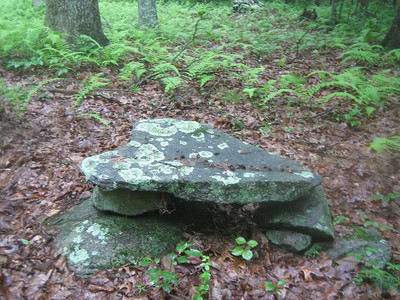 This stone pile is thought to be of Nipmuc origin