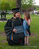 Celebrating with Liliana after graduation