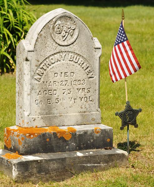 anthony burney grave