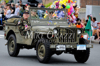 5/28/2011 Mike Orazzi | Staff A WWII Jeep during the Newington Memorial Day parade on Saturday.
