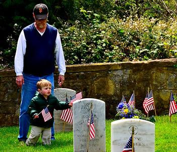 Memorial Day, 2012, SF Presidio National Cemetery