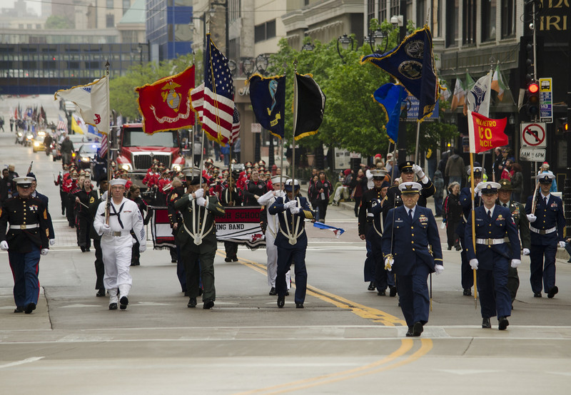Milwaukee Memorial Day Parade 2013
