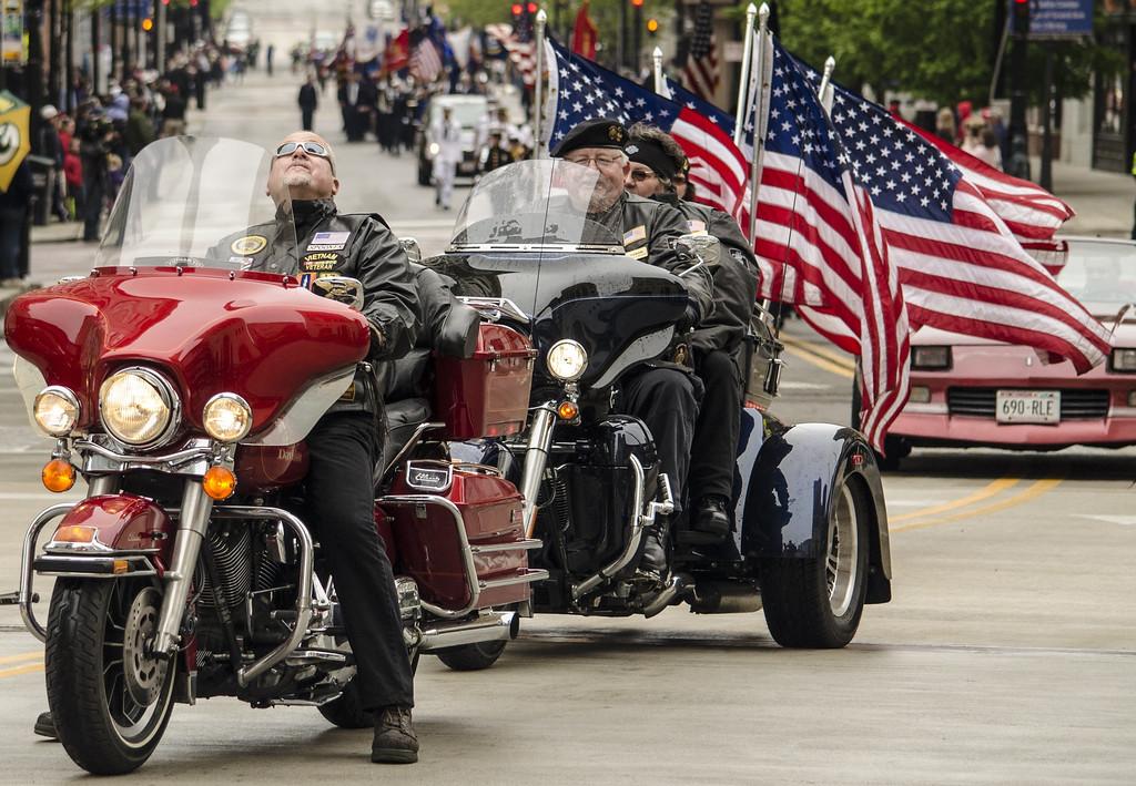 Milwaukee Memorial Day Parade 2013