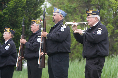 Memorial Day 2013 at the Joiner Cemetery, Sycamore, Ill.
