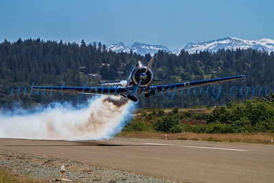 Memorial Day 2014, T6's at Placerville Airport