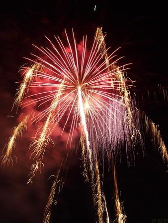 Memorial Day Fireworks Display
