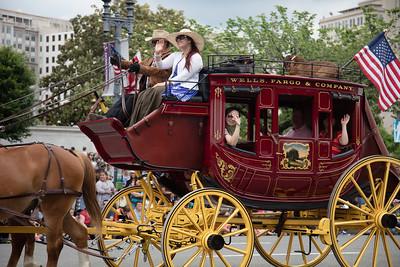 National Memorial Day Parade, Wells Fargo
