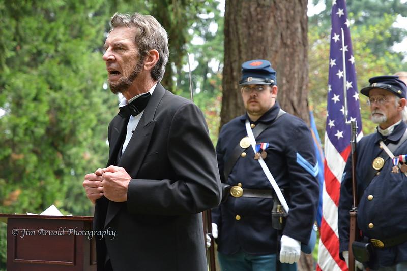 President Lincoln Speaks