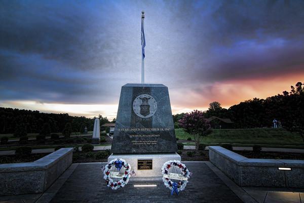 Memorial at the Carolina Field of Honor 17 August 2018