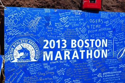 Boston Spring 2013, Post-Marathon