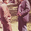 Two poets, Konstantinos Lardas and Jerry Badanes, Cambridge, Massachusetts, June 1971.