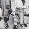 Rev John Crocker ( L ) and Carl Oglesby ( R ) at Withorn//White wedding Cambridge, Massachusetts, June 1971