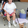 Marlene Myers of Hermitage and her Yorkie 'Max' attended Memories with a 1958 Chevy Impala. — Mary Grzebieniak
